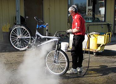 Verona WI Bicycle Steam Cleaning